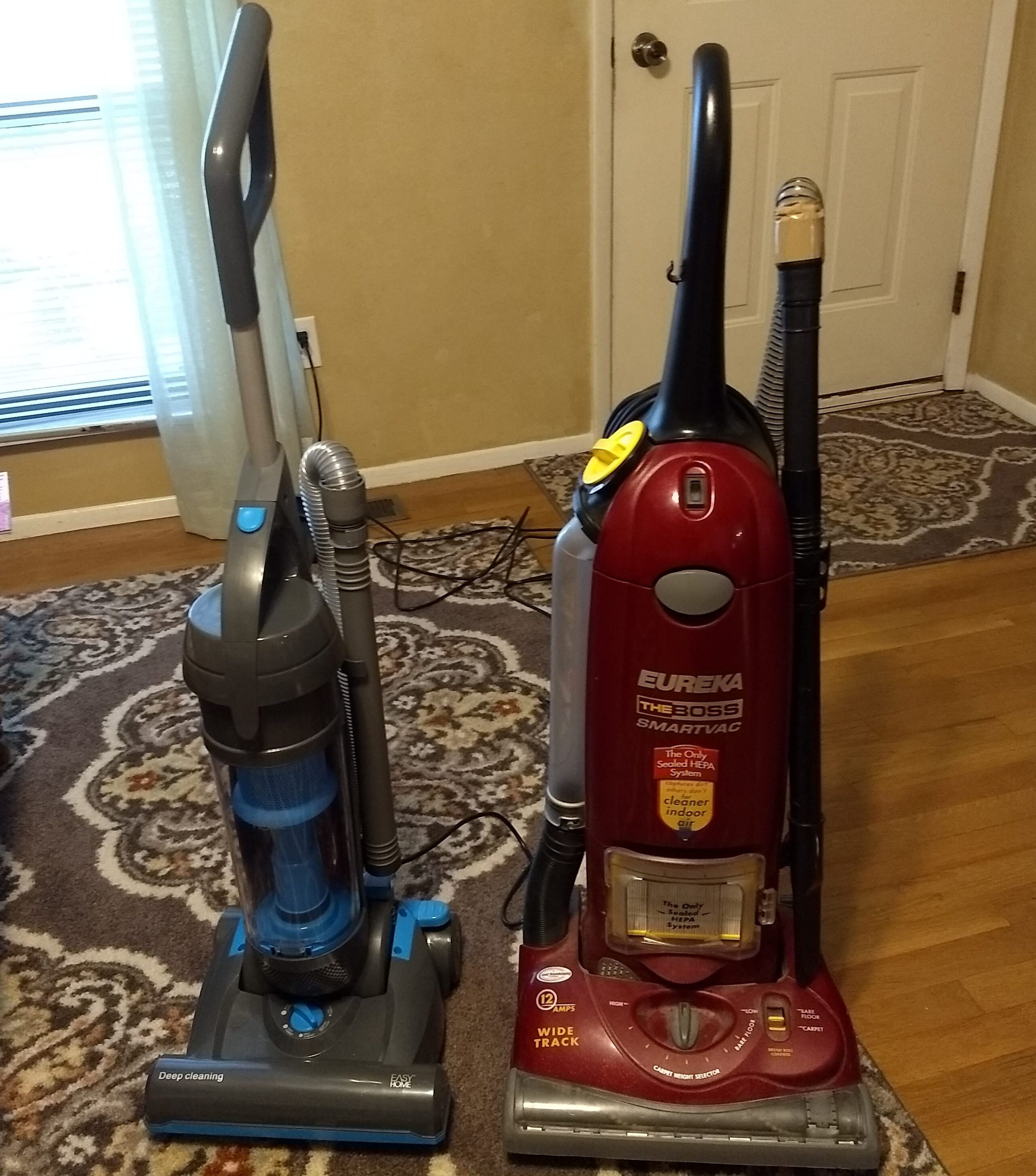 Review of Eureka 431A Optima Bagless Upright Vacuum