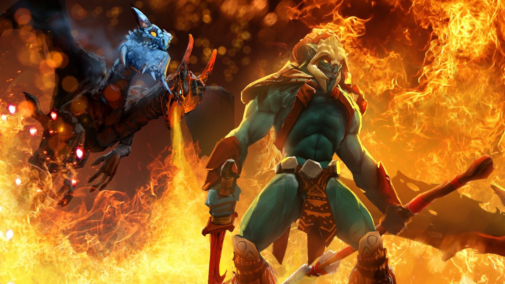 DOTA 2 Heros: Lich & Spirit Breaker