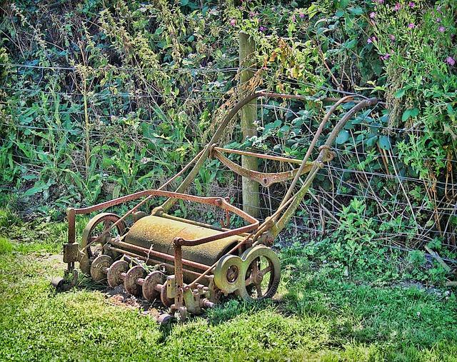 Lawn Roller- Better Tool than Mower